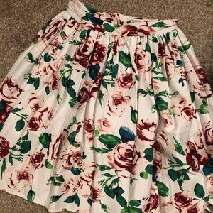 Unique vintage retro skirt